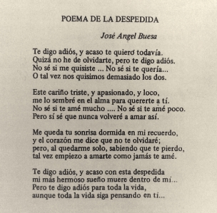 poema despedida